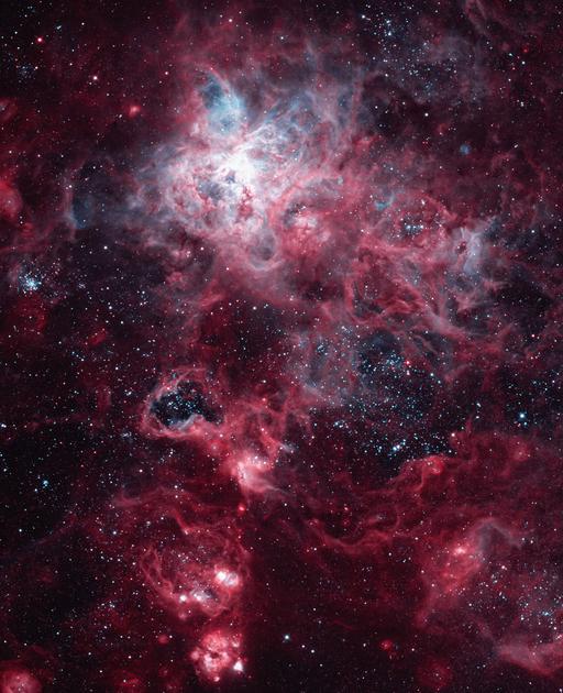 Gigantikus csillagvihar - A Tarantula-köd a Nagy Magellán felhőben