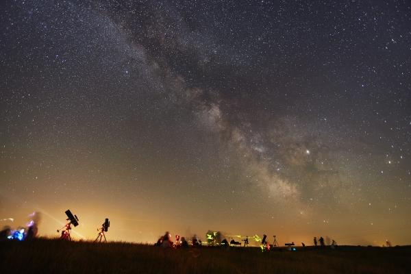 Egy kedves távcsöves program: Csillagnézés a farmon