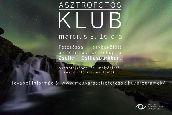 Asztrofotós Klub március