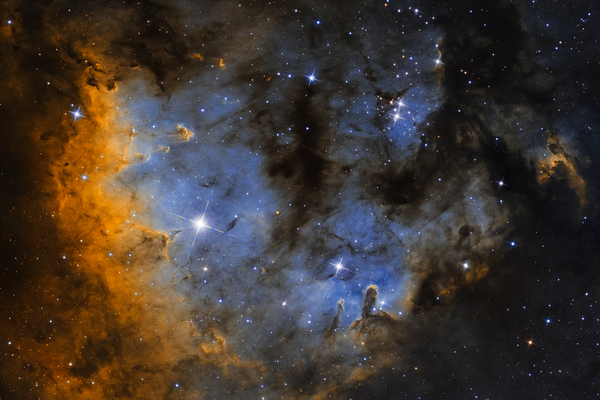 Cederblad 214 (NGC7822) - SHO