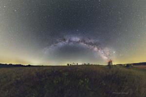 Vámosi Flórián asztrofotója