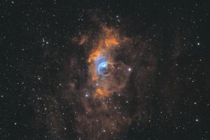Buborék köd - NGC 7635