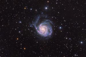 Messier 101 - Szélkerék galaxis