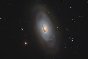 M64 - Ördögszem-galaxis -teljes felbontás