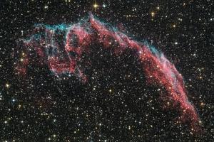 Keleti Fátyol - Caldwell 33, NGC 6995, NGC 6992, IC 1340
