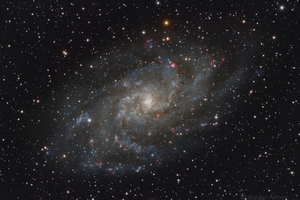 M33 - Triangulum-galaxis