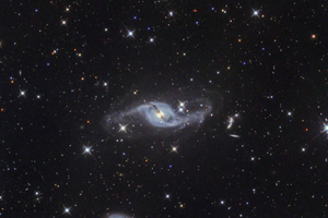 NGC 3718 Távoli Galaxisok nyomában...