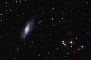 M106 és NGC4217