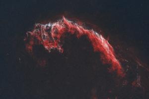 Fátyol köd NGC6992 HaOO Csillagtalanítva