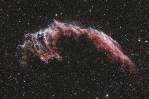 NGC6992 sárkányfej köd