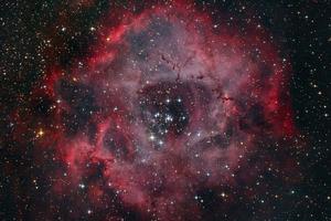 Rozetta-köd és NGC 2244 halmaz