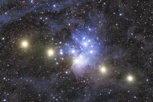 A Messier 45 és a Vénusz együttállása