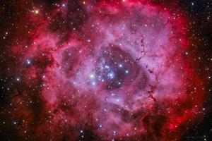Rozetta köd NGC2244