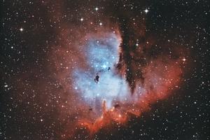 Pacman az űrben (NGC281)