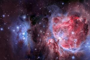 Orion köd mozaik (5 képrészből)