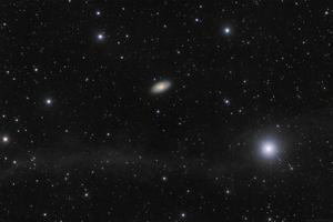 Messier 64 - Feketeszem galaxis