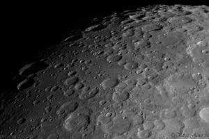 Déli krátermező fogyó holdnál