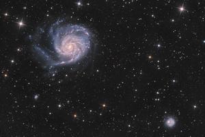 M101 HaLRGB v2