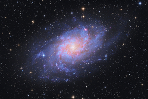 Messier 33, Triangulum-galaxis