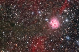 Selyemgubó-köd - IC5146