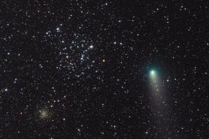 21P/Giacobini-Zinner és az M35