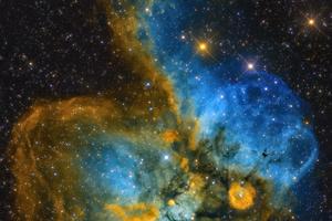 A Halálfej-köd (NGC 2467)