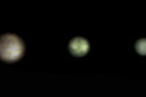 A Ganymedes, Io és Europa holdak