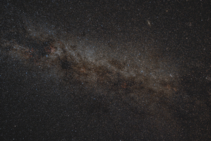Tejút - részlet (Samyang 14mm/f2,8 - tesztfotó - first light)
