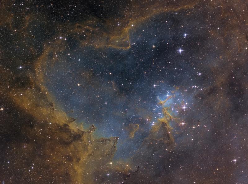 Szív-köd (IC 1805, Sh2-190)