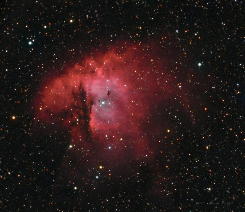 NGC281 - Pacman-köd - Ha RGB