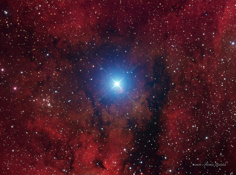 A Sadr csillag (Gamma Cyg) Ha-LRGB