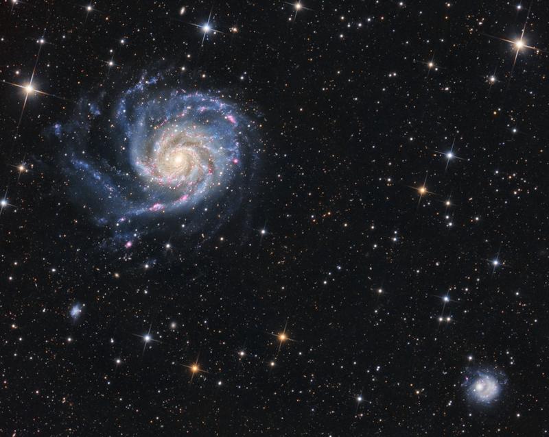 M101 HaLRGB