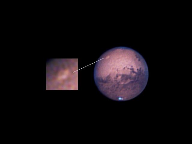 A Mars és az Olympus Mons vulkán