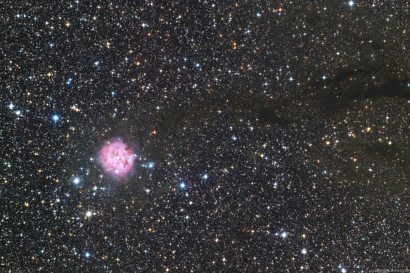 IC 5146 - Selyemgubó-köd