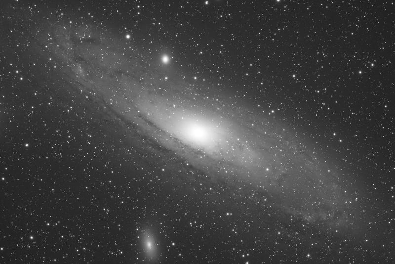 M31 - Androméda Galaxis - 1 darab, 10 perces próbakép