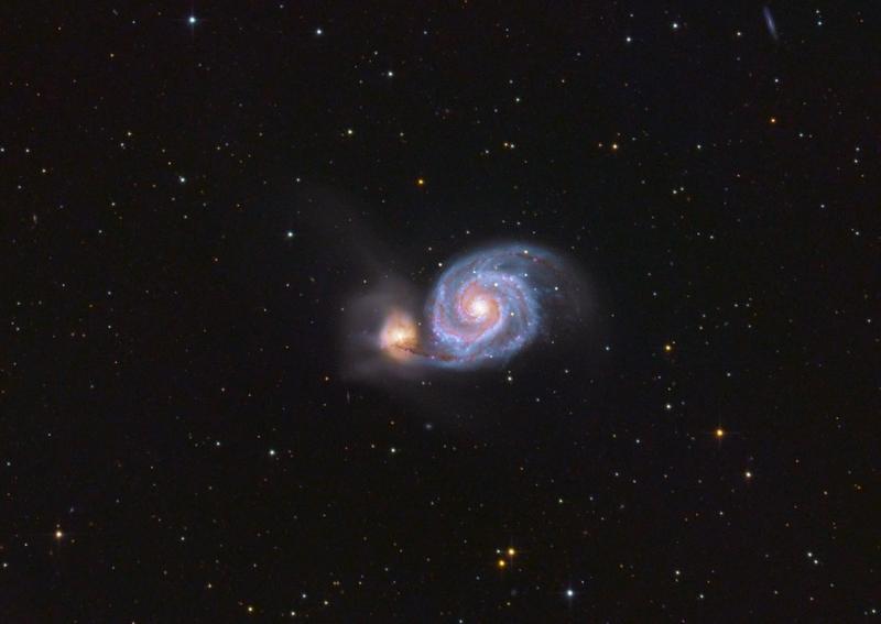 M51 Örvény-galaxis