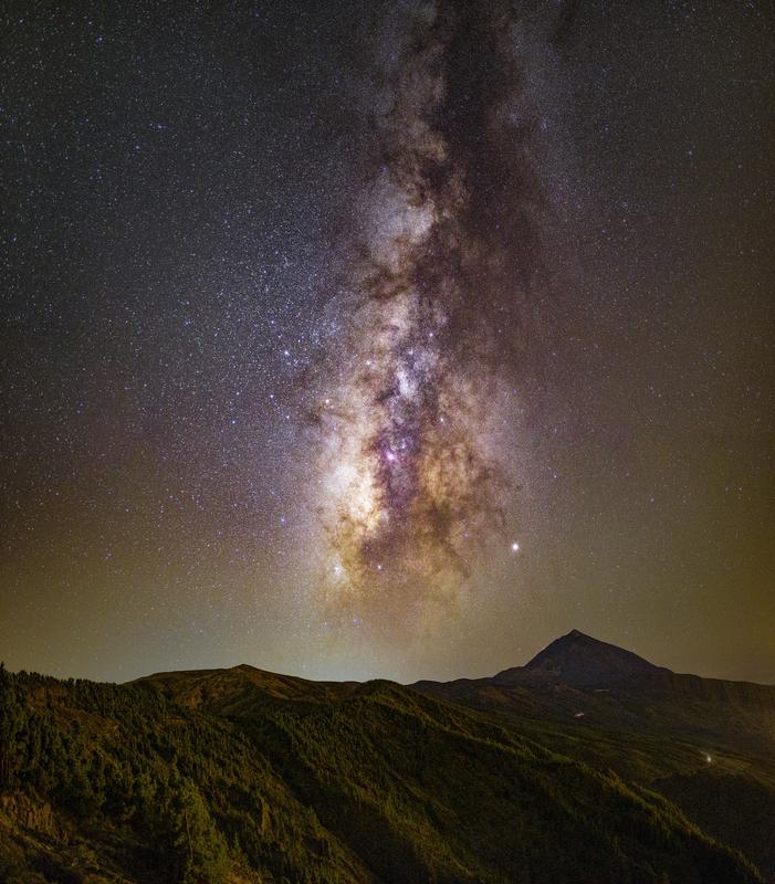 Csillagok Tenerifén