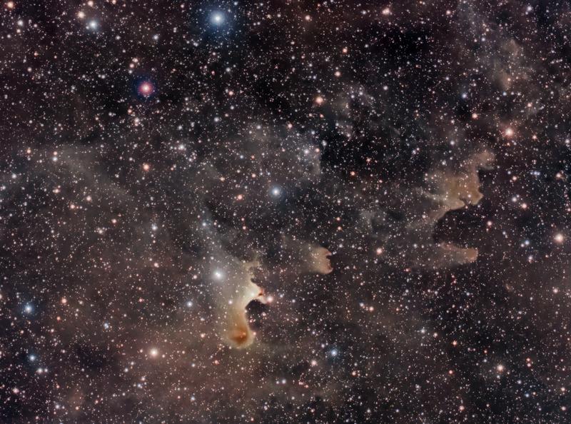 SH2-136 - Szellem-köd