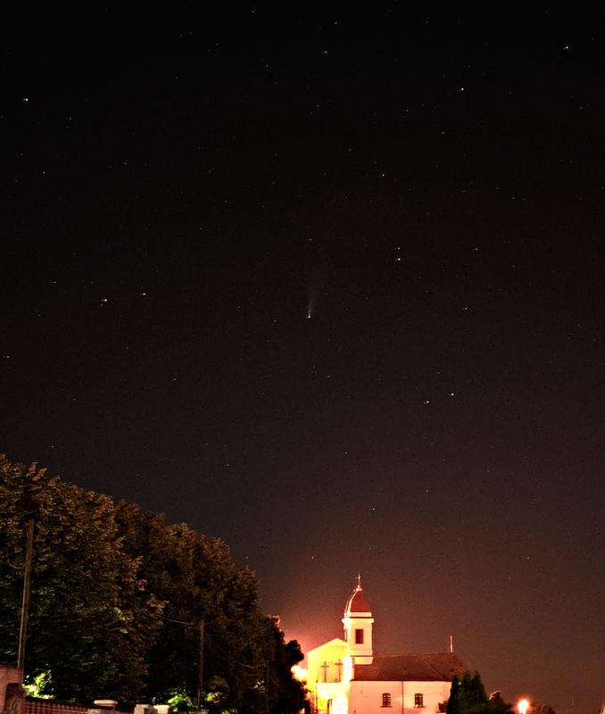Neowise üstökös & Örökkévalóság