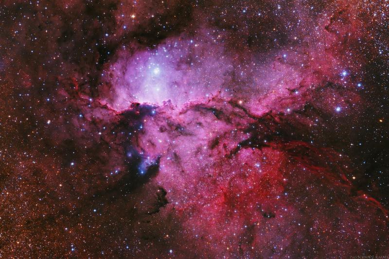 A harcoló sárkányok - NGC 6188