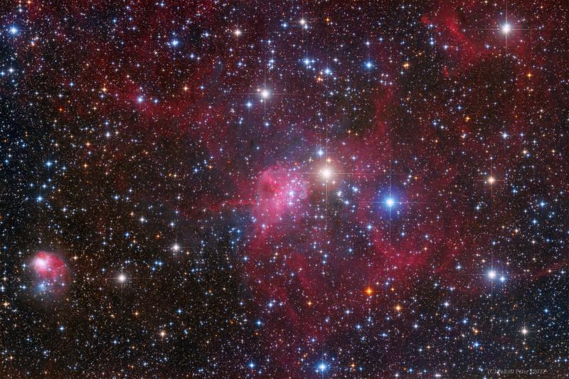 IC 417 Emissziók az Aurigában