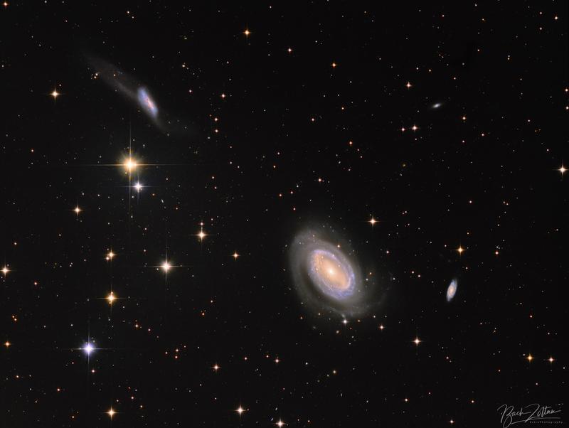 NGC4725 és társai