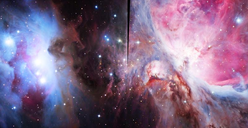 Trapézium+NGC1977