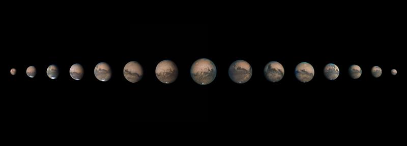A Mars egy éve,  2020-2021