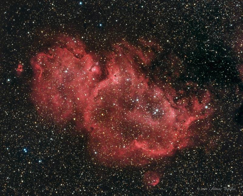 IC1848 - Lélek-köd - Ha-LRGB