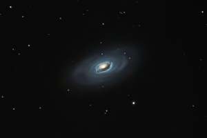 Fekete szem galaxis (M64)
