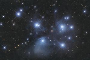 Plejádok - M45 `szabadszemes` megfigyelés
