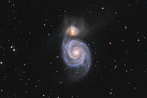 M51 - Örvény Galaxis