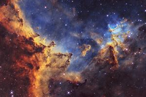 Az Univerzum mélységei - A Szív-köd részlete