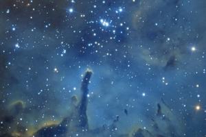 Sh2-86 (NGC 6823 nyílthalmaz)